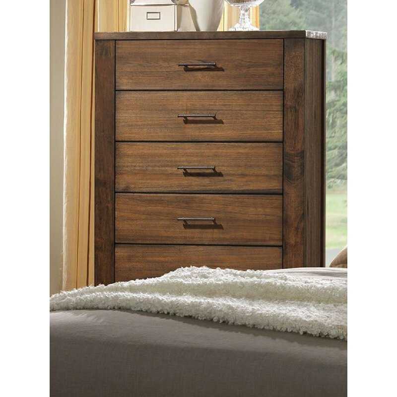 Foundry Select Zoey 5 Drawer Chest Wayfair