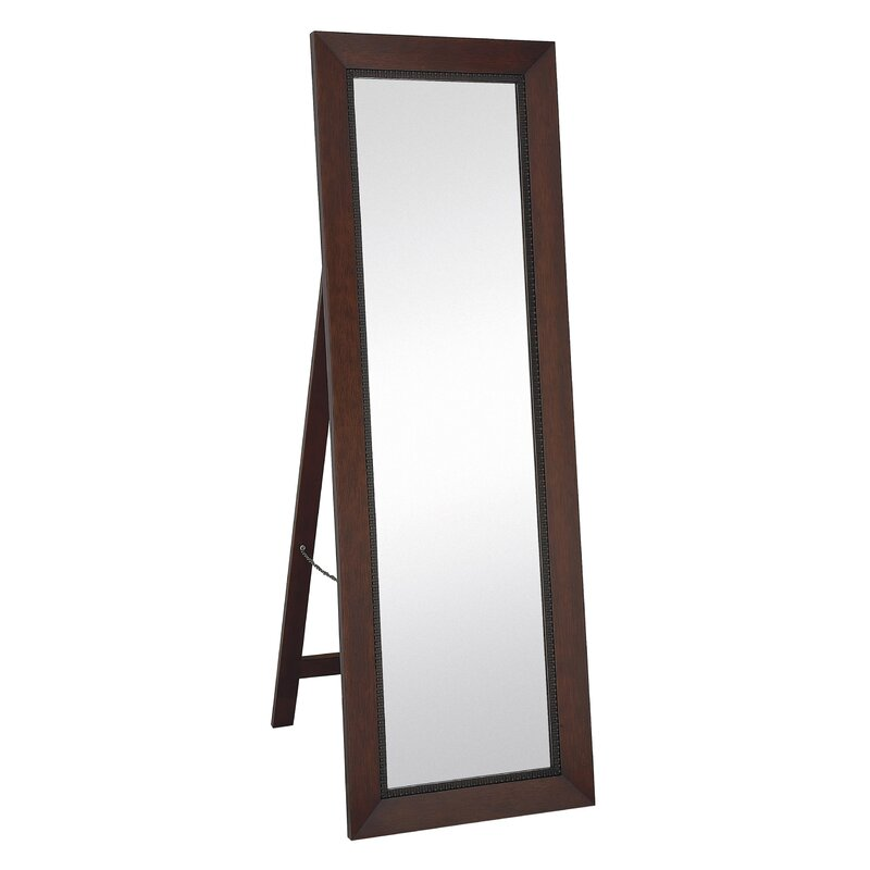 Majestic Mirror Classic Contemporary Rectangular Mahogany Full ...