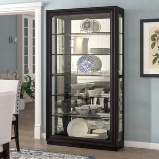 Albrightsville Lighted Curio Cabinet