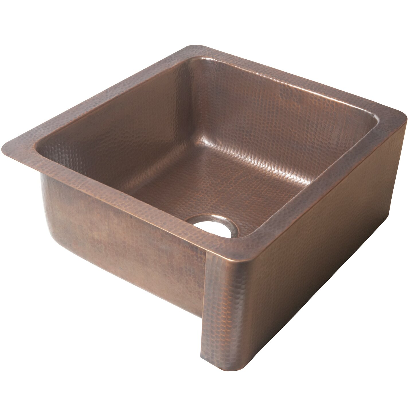 monet 25 x 22 farmhouse handmade copper kitchen sink - Copper Kitchen Sinks Reviews