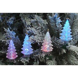 led christmas tree 4 light net light