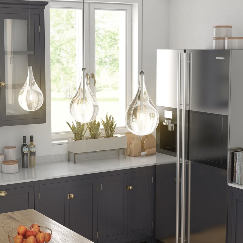 Kitchen Lighting Next: Wade Logan Neal 1-Light Mini Pendant & Reviews