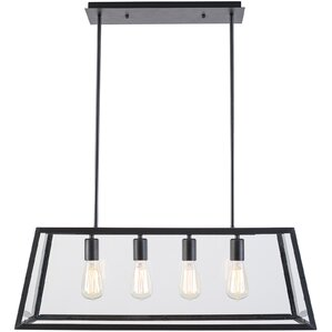 Robby  Light Kitchen Island Pendant Glass