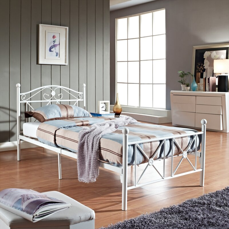 kitchen u0026 dining caitlin button tufted headboard vinyl leather wood twin bed frame in white defaultname