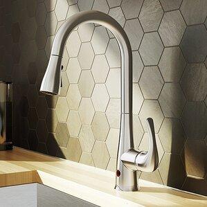 Keeney Manufacturing Company Plumb Pak Movement Sensor Single Handle Pull Down Standard Kitchen Faucet