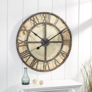 Oversized Omak Map Wall Clock