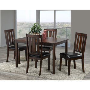 Uday 5 Piece Dining Set by Red Barrel ..
