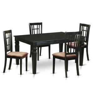 Belcourt 5 Piece Extendable Dining Set