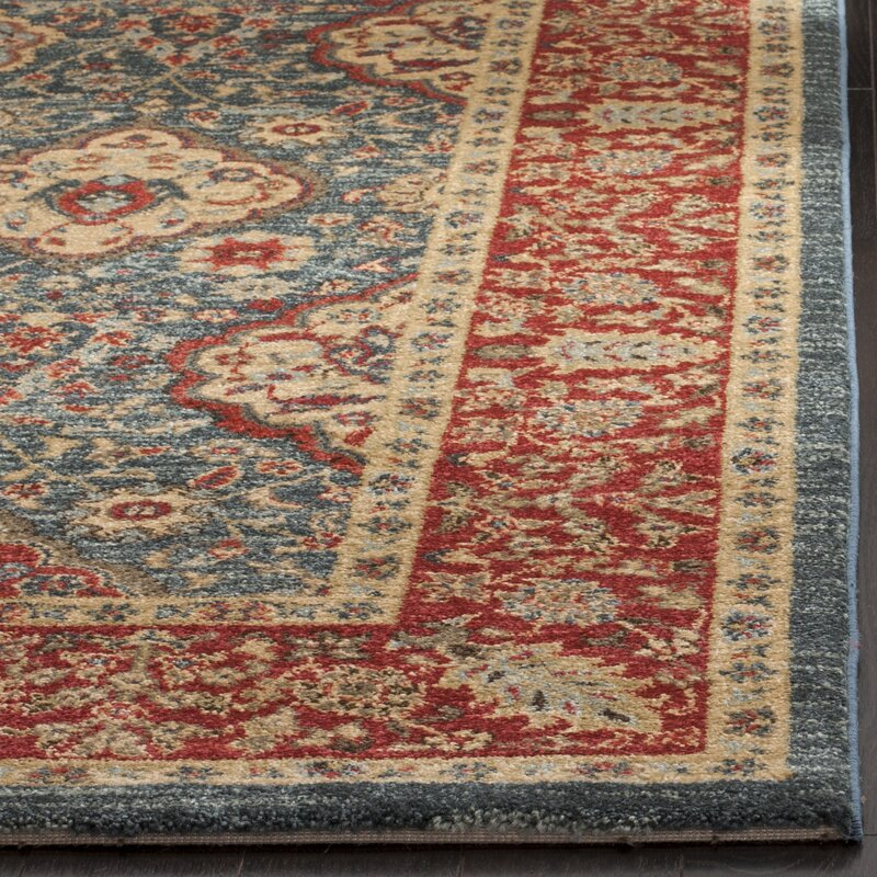 darby home co alto red blue area rug reviews. Black Bedroom Furniture Sets. Home Design Ideas