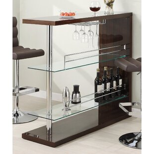 Terfloth Bar with Wine Storage