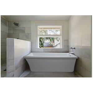 End Drain Freestanding Tub. End Drain Freestanding 65 5 x 32 Soaking Tub Bathtubs You ll Love Wayfair  nickbarron co 100 Images My Blog