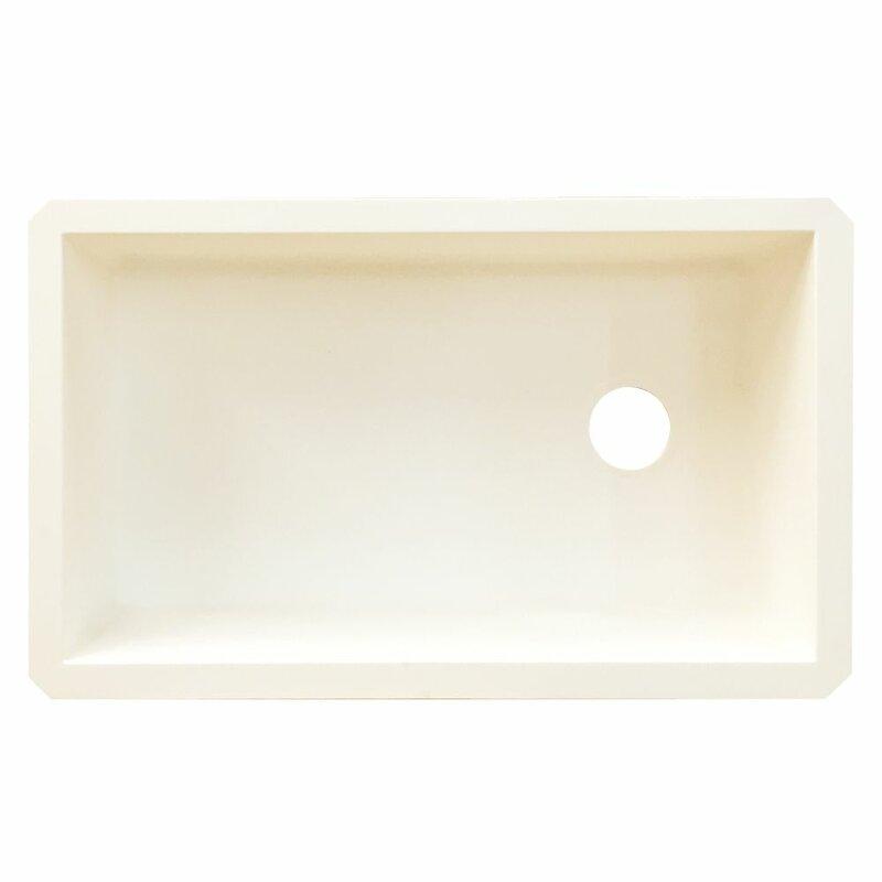 radius 31   x 18 5   granite single bowl undermount kitchen sink transolid radius 31   x 18 5   granite single bowl undermount      rh   wayfair com