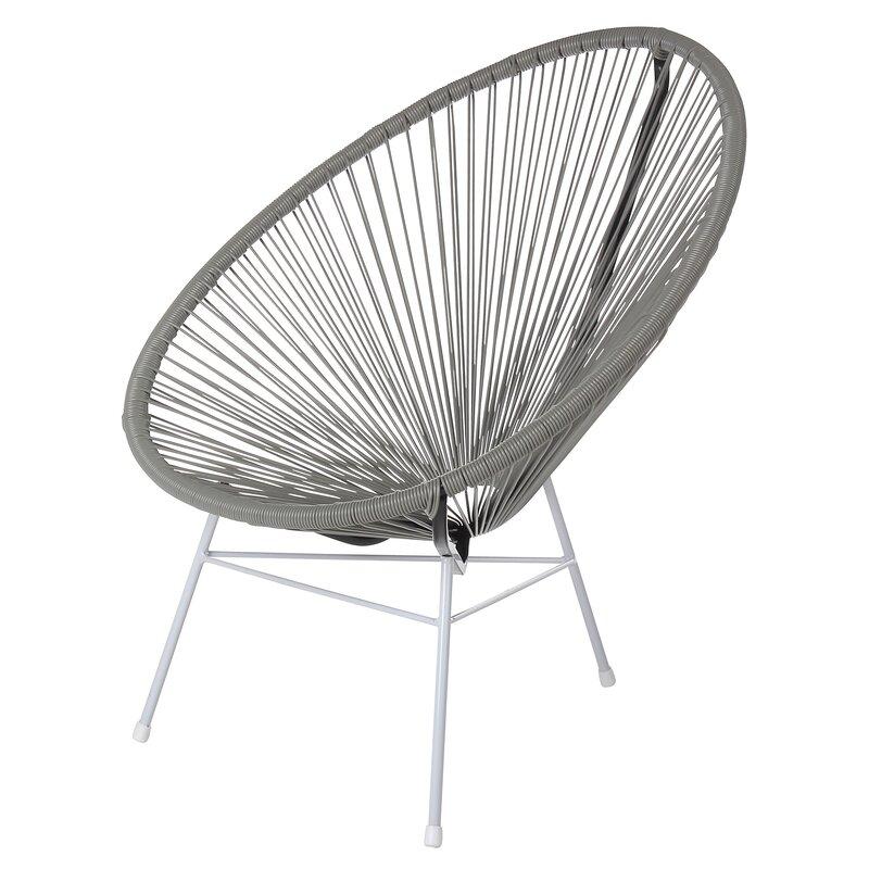 Acapulco Woven Basket Patio Chair