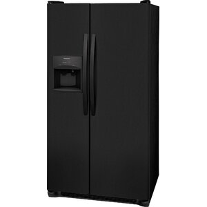 25.5 Cu ft. Side-by-Side Refrigerator with LED Lighting