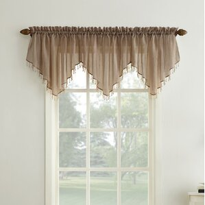 Window Valances, Café & Kitchen Curtains You\'ll Love | Wayfair