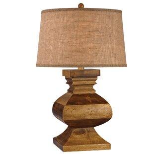 Carved Wood Table Lamp Wayfair