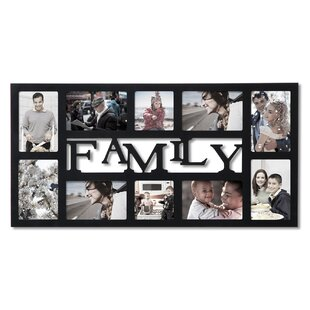 Family 10 Slot Picture Frame
