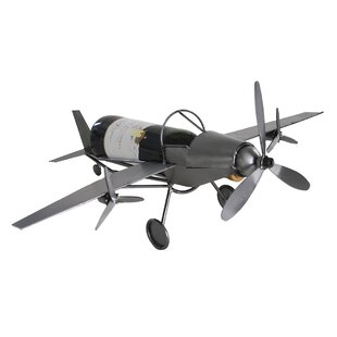 Airplane 1 Bottle Tabletop Wine Rack