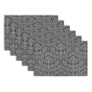 Zimmermann Damask Vinyl Placemat (Set Of 6)