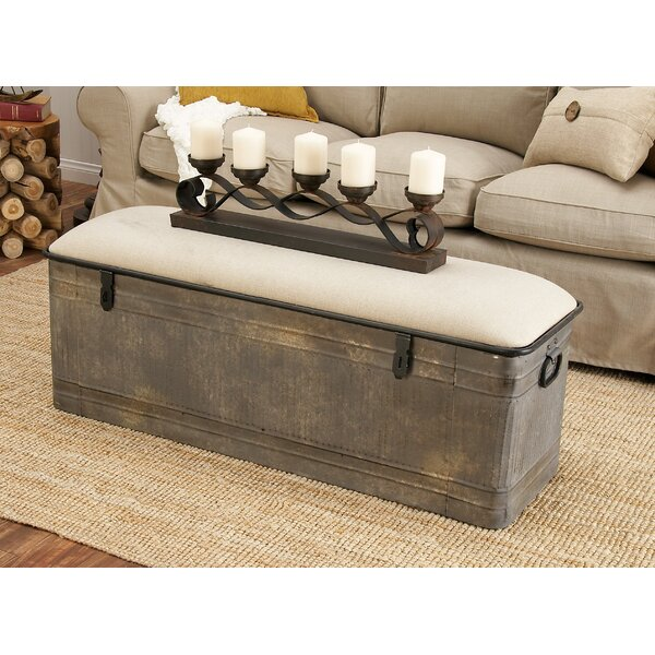 Bedroom Bench Home Goods Rustic Bedroom Furniture Sets Bedroom Dresser Accessories Bedroom Furniture Tv Stand: Dublin Metal Storage Bench & Reviews