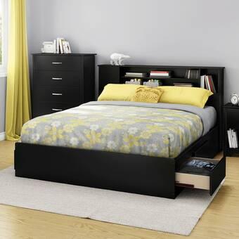 Fusion Queen Storage Platform Bed