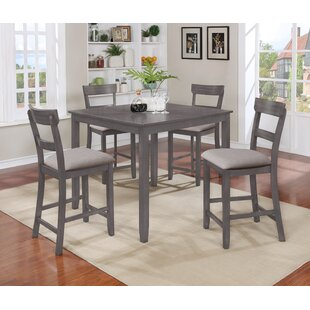 Height Of Dining Room Table abigail six piece counter height dining set Henderson 5 Piece Counter Height Dining Set