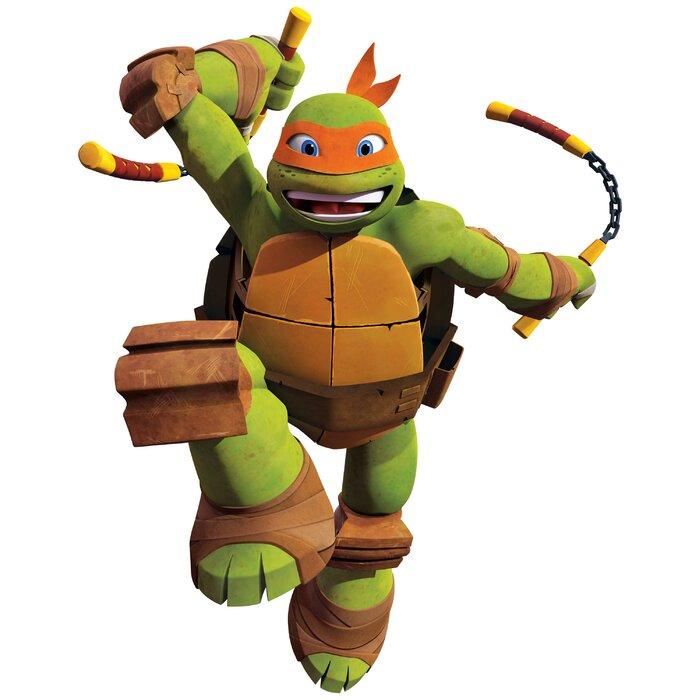 Teenage Mutant Ninja Turtles  Michelangelo  ...  sc 1 st  Wayfair.ca & Wallhogs Teenage Mutant Ninja Turtles