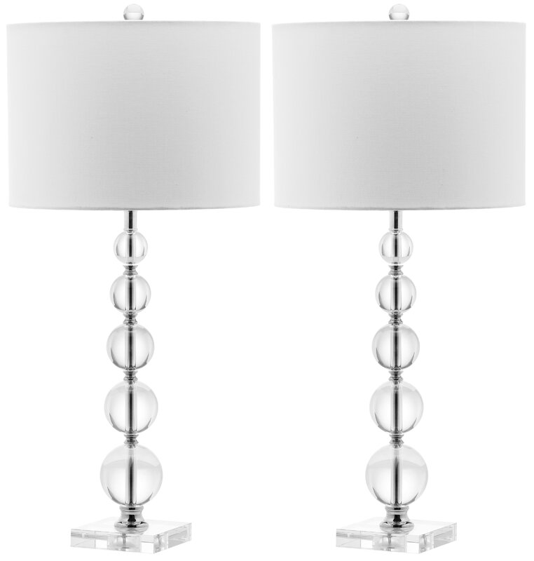 Zeil stacked ball 29 table lamp