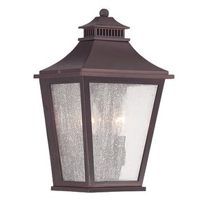 MarbleX 2-Light Outdoor Flush mount