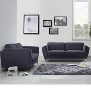 Meadow 2 Piece Living Room Set by Wade Logan