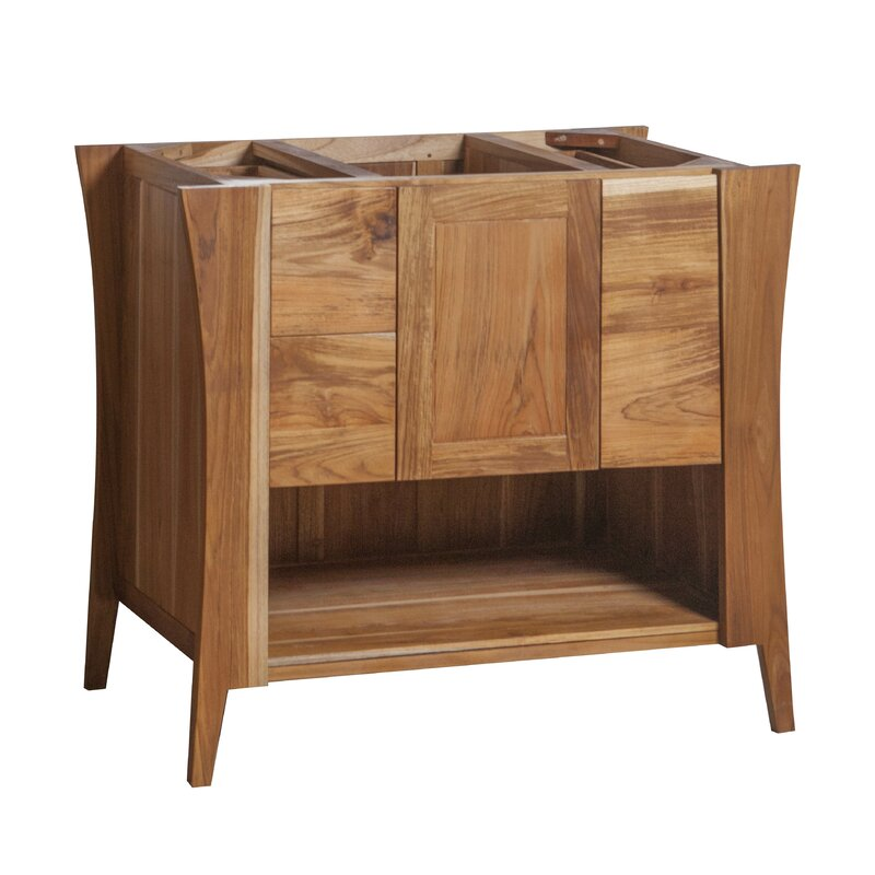 """EcoDecors Curvature 36"""" Single Bathroom Vanity Base Only ..."""