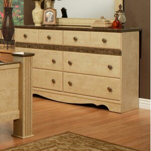 Casa Blanca 6 Drawer Dresser by Sandberg Furniture