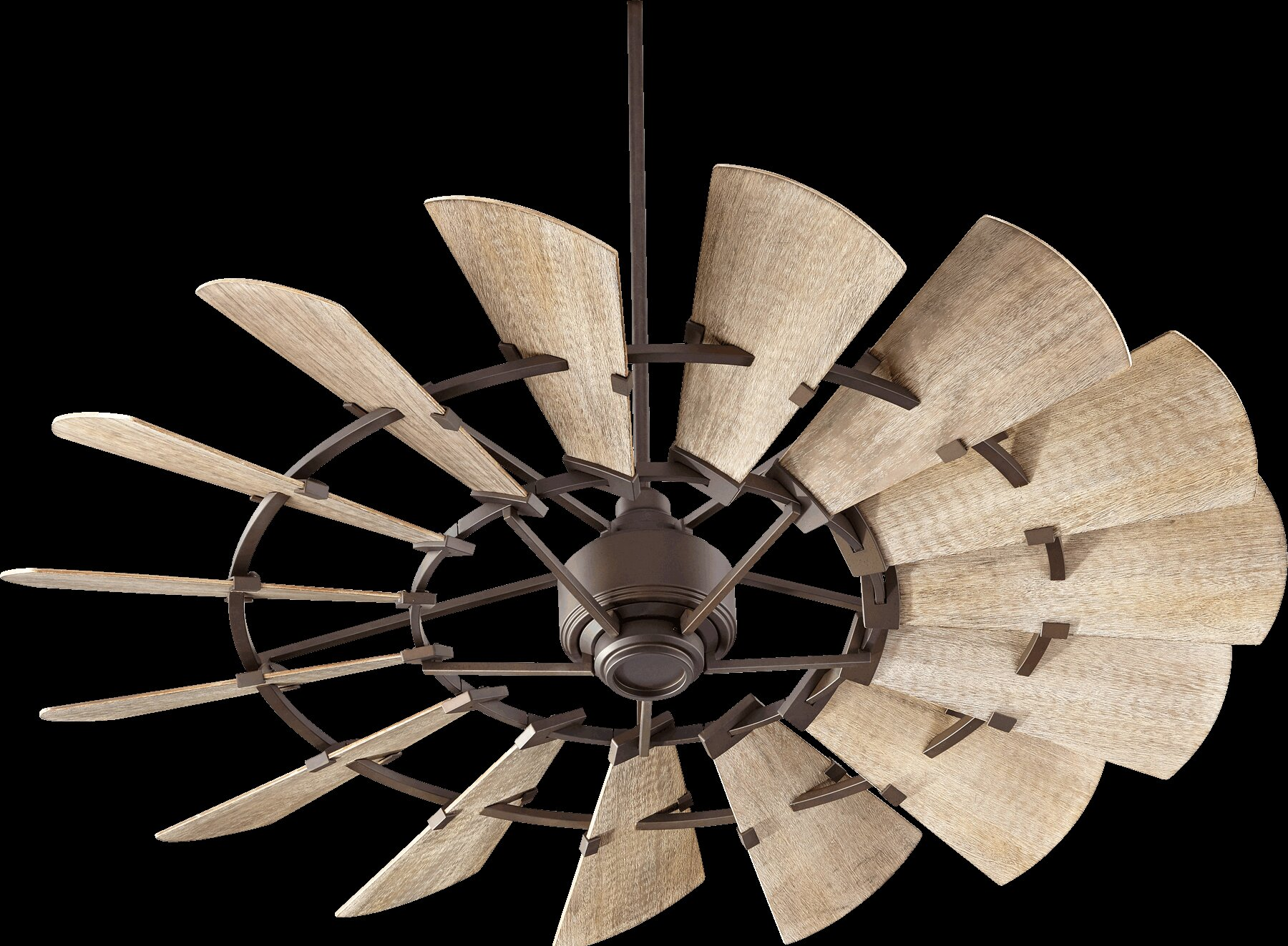 Laurel Foundry Modern Farmhouse Froid 60 Quot Windmill 15