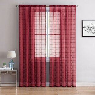 Check plaid curtains drapes youll love wayfair check plaid curtains drapes solutioingenieria Image collections