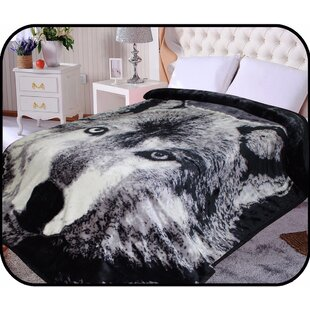 Hiyoko Safari Wolf Animal Mink Blanket c96e234e2