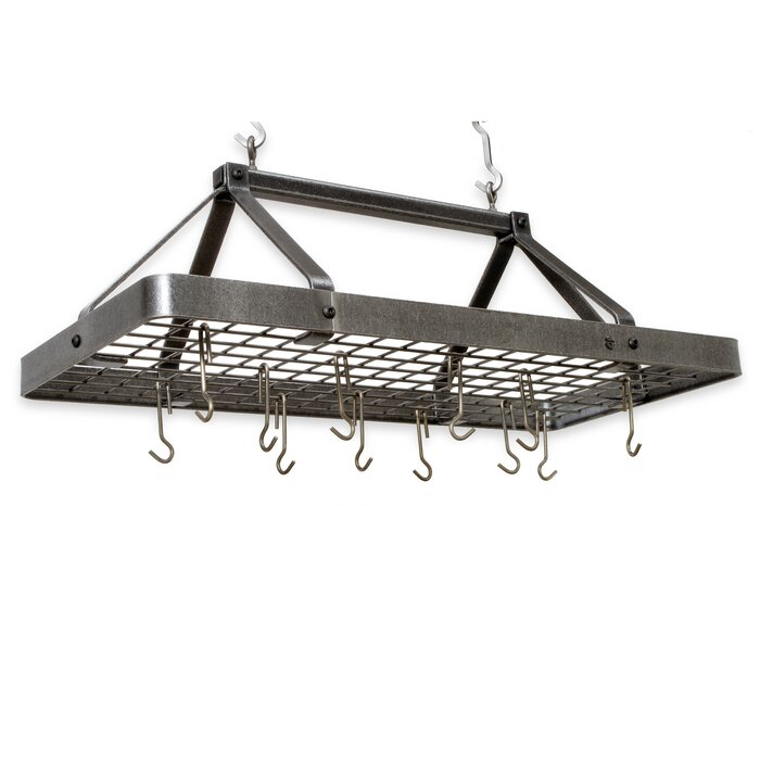 utensil bookshelf gray hooks steel up it p pot wall bar gy with mpb racks hammertone rack enclume
