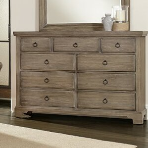 Brookhill 9 Drawer Dresser by Darby Home Co