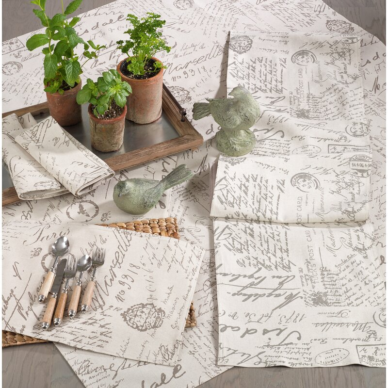 Astounding Noren Old Fashioned Vintage Script Print Design Tablecloth Download Free Architecture Designs Terchretrmadebymaigaardcom