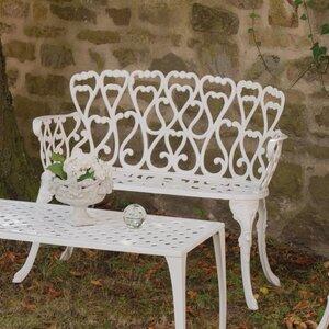Gartenbank Eden aus Aluminium von Inko