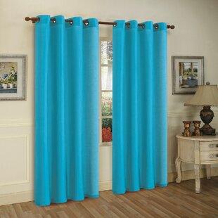 Navy Blue Bedroom Curtains | Wayfair