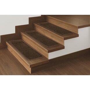 Lovely Bullnose Carpet Stair Treads | Wayfair