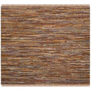Great Apeldoorn Hand Woven Brown Area Rug