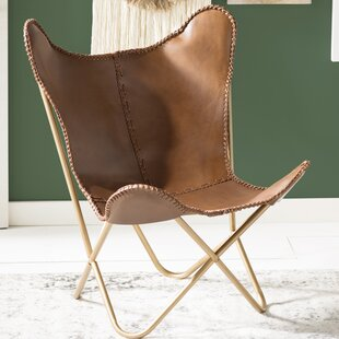Justa Leather Erfly Chair