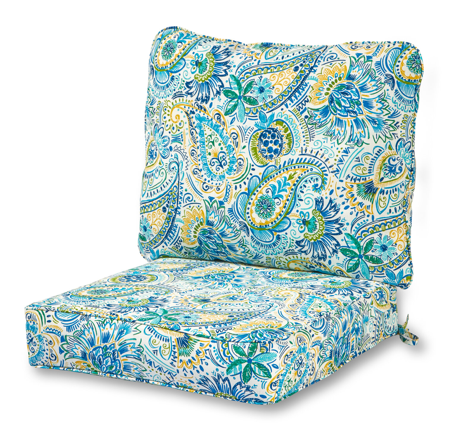 Greendale Home Fashions Indoor Outdoor Lounge Chair Seat And Back