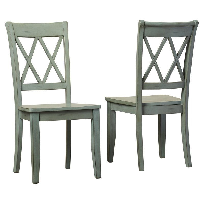 Castle Pines Solid Wood Dining Chair  sc 1 st  Wayfair & Loon Peak Castle Pines Solid Wood Dining Chair u0026 Reviews | Wayfair