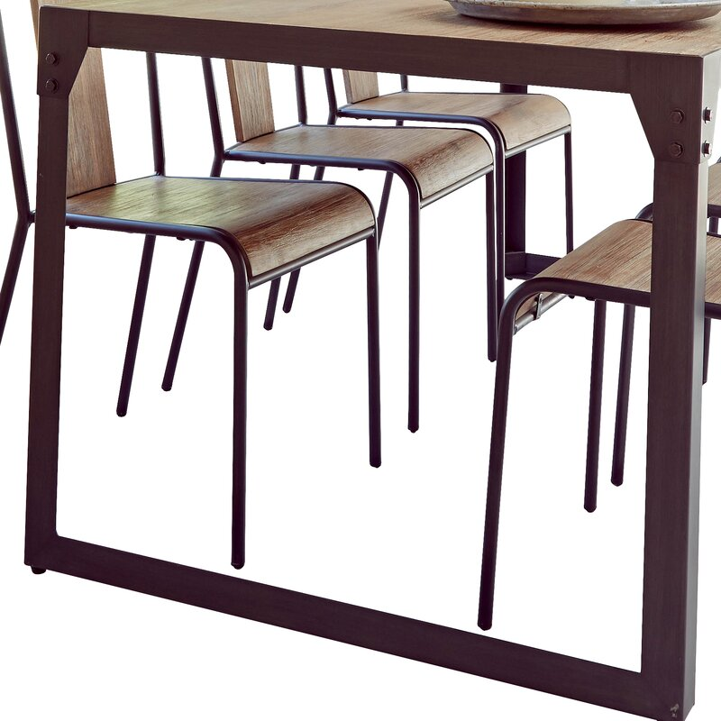 homestead living essgruppe turner mit 6 st hlen bewertungen. Black Bedroom Furniture Sets. Home Design Ideas
