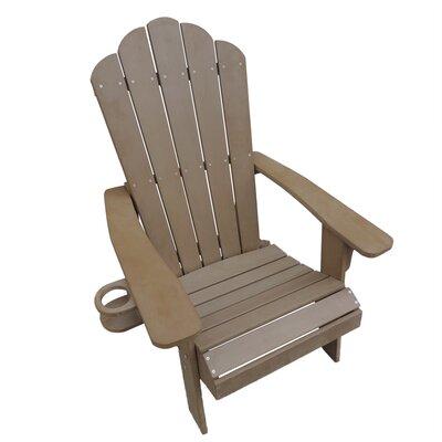 Beau Ajinkya Plastic Adirondack Chair