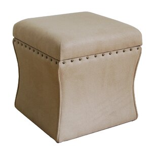 Eversole Upholstered Storage Cube Ottoman
