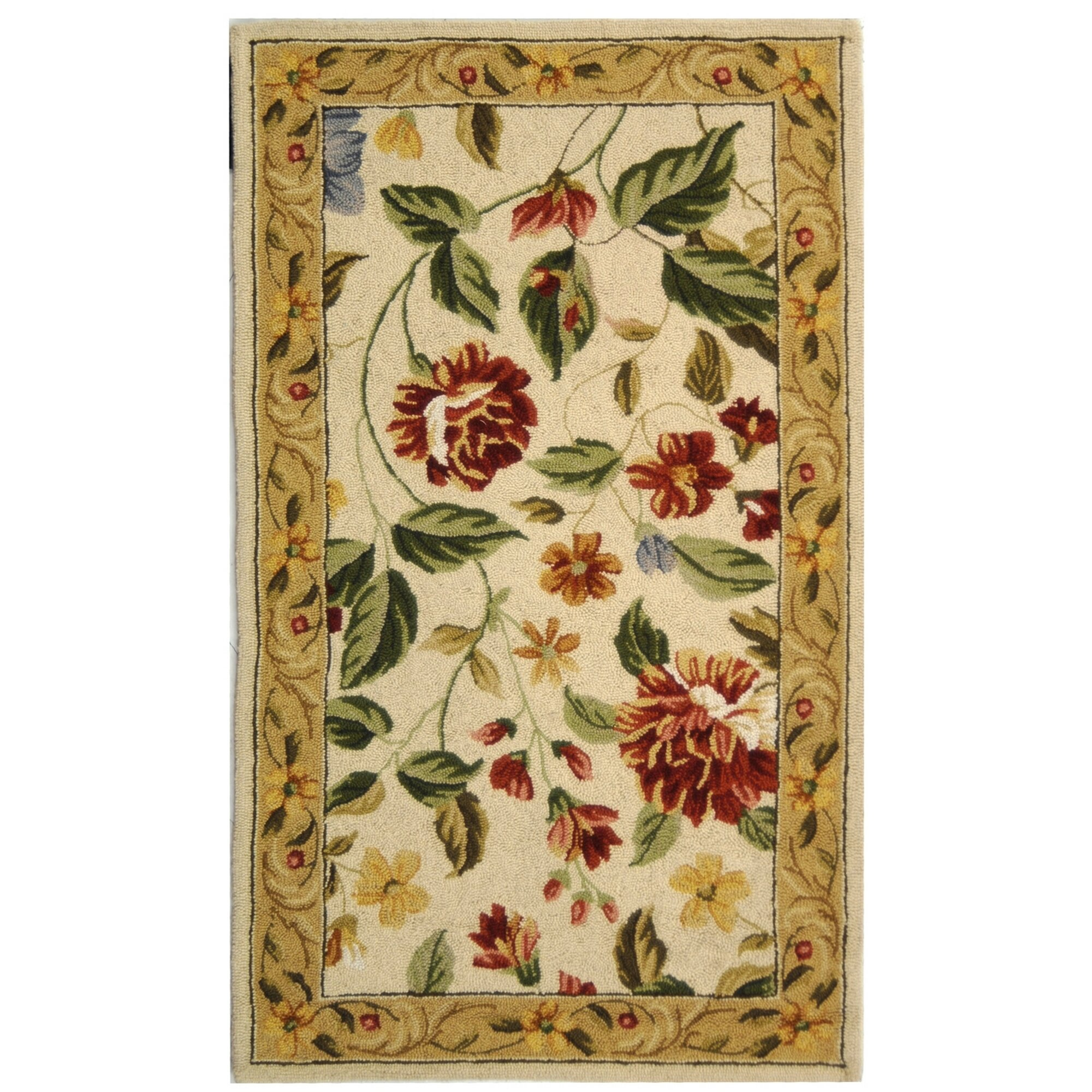botanical free home and most for flower rug floral blue rugs bold throughout the area own with awesome along light stunning your red shipping
