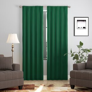 Darrah Solid Blackout Single Curtain Panel